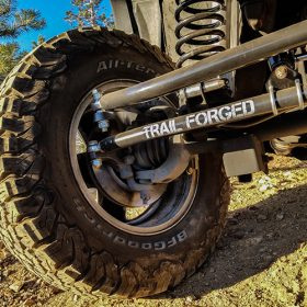 Trail Forged WJ Steering Closeup