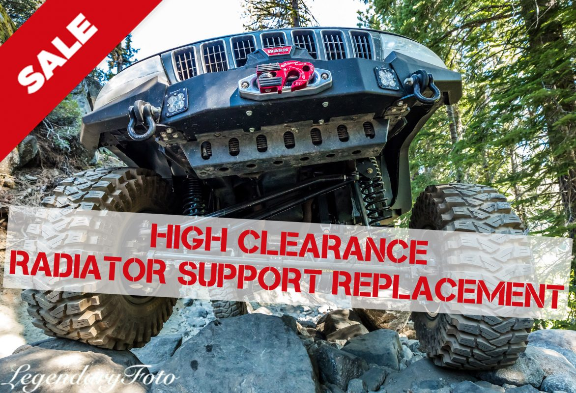 Trail Forged High Clearance Radiator Support on Sale!