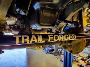 Trail Forged 12 Decal