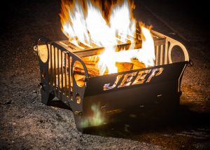 Trail Forged Jeep Flatty Fire Pit