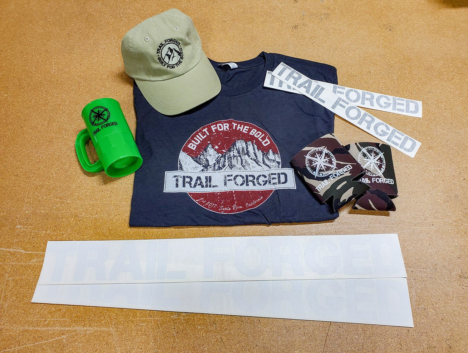 Trail Forged Ultimate Swag Pack!