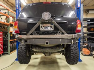 Trail Forged WJ Rear Bumper