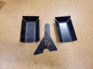 TJ, LJ, MJ, XJ, and ZJ Front Axle Bracket Reinforcement Kit
