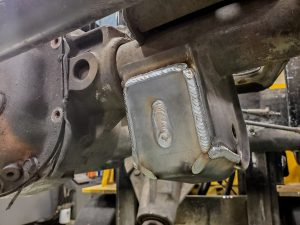 WJ Front Lower Control Arm Skid