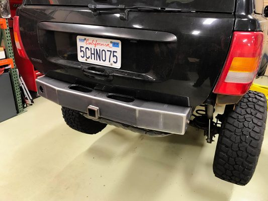 Trail Forged WJ Rear Stubby Bumper
